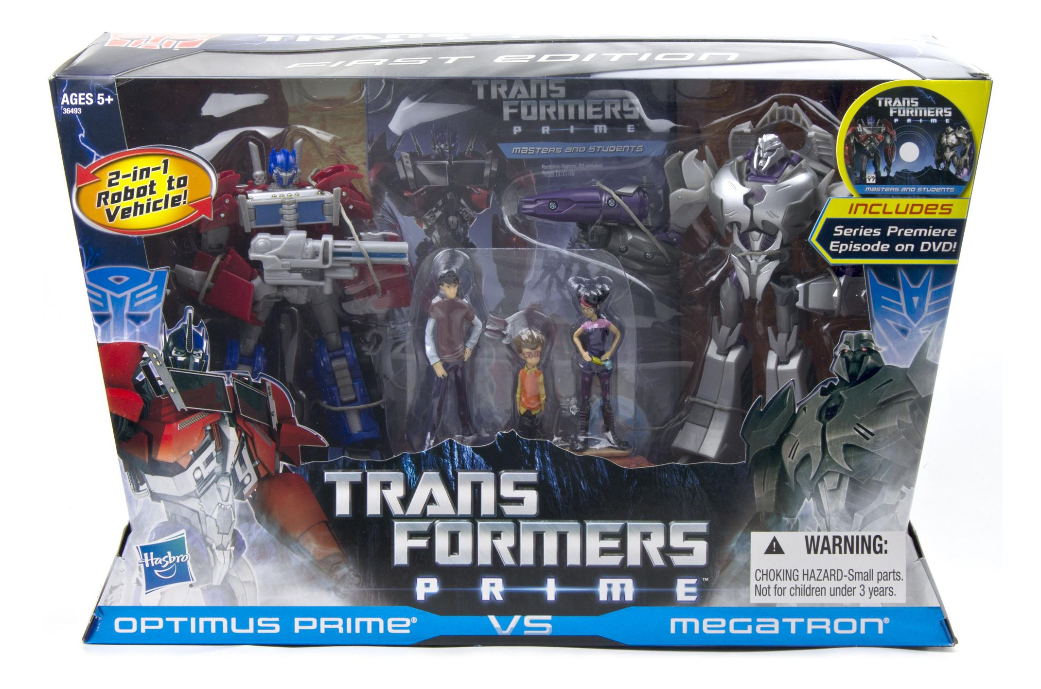 Transformers Prime Raf Esquivel First Edition